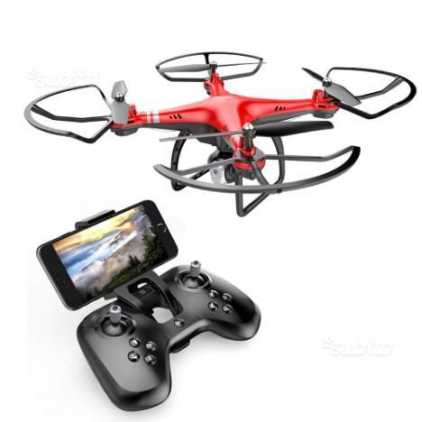 Goolsky ® Drone con Videocamera 720P Wifi