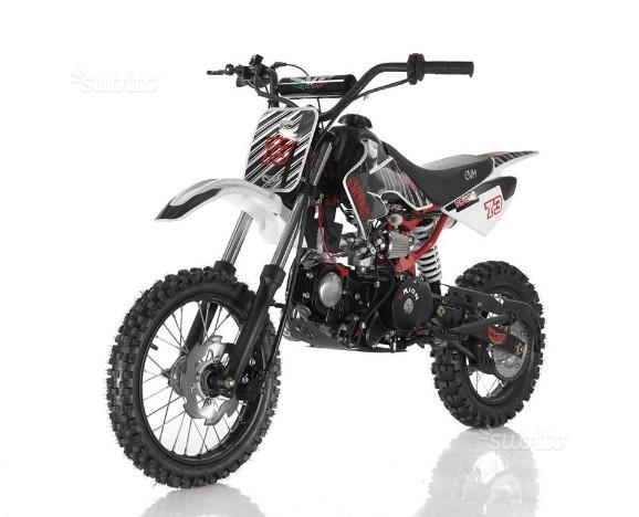 Cross, pitbike apollo speedy 125cc automatico