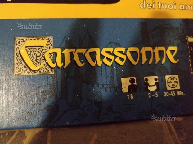 Carcassonne gioco da tavolo