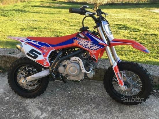 Cross, pitbike apollo rxf 50cc 4t acc.elettronica