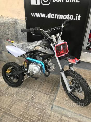Cross, pitbike 125cc automatico o marce - 2018