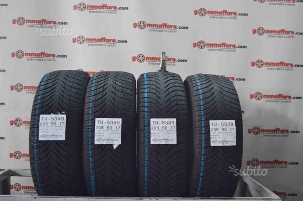 4 gomme 205/50 R17 Michelin Invernali TU-5349