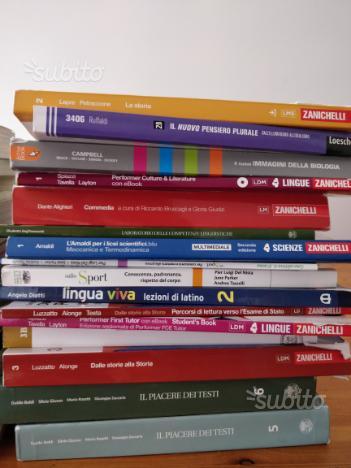 Libri scolastici per liceo