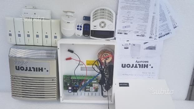 Sistema antifurto completo via radio