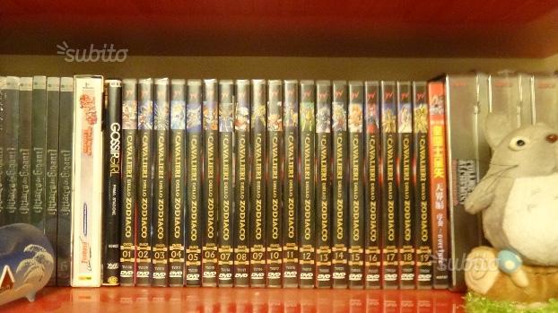 DVD - I Cavalieri Dello Zodiaco - 19 DVD/Originali