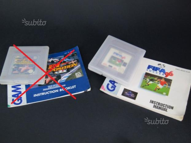 Giochi originali Nintendo GAME BOY