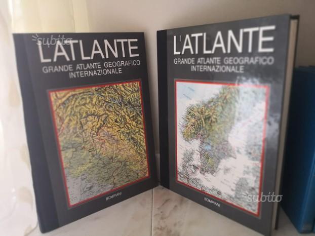 Grande atlante geografico internazionale