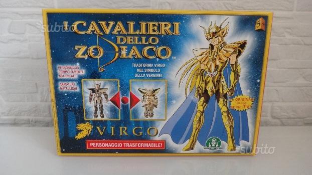 SAINT SEIYA - VIRGO - Giochi Preziosi - Vintage