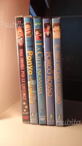 DVD - STUDIO GHIBLI/Hayao Miyazaki - Originali