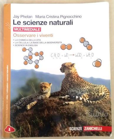 Libro Le Scienze Naturali ISBN 978.88.08.43675.7