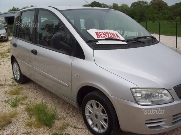 FIAT Multipla 1.6 BENZ/METAN ANNO-2007