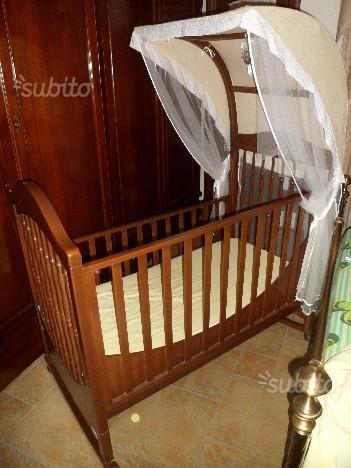 Culla della baby italia in legno