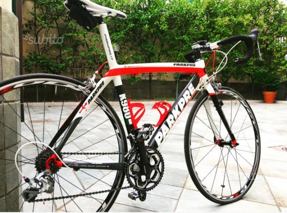 Bici da corsa Parkpre k980 full carbon 650 euro