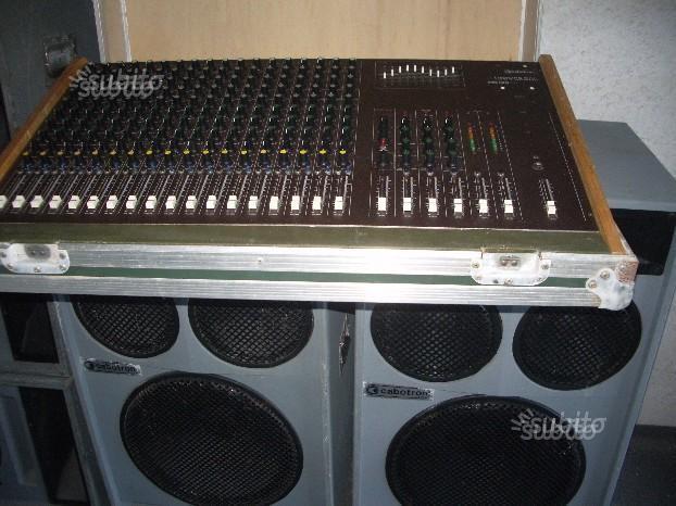 Impianto audio profess. cabotron