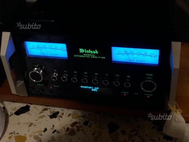 McIntosh MA 8000 amplificatore integrato nuovo