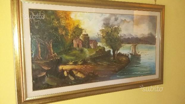 Quadro dipinto su tela