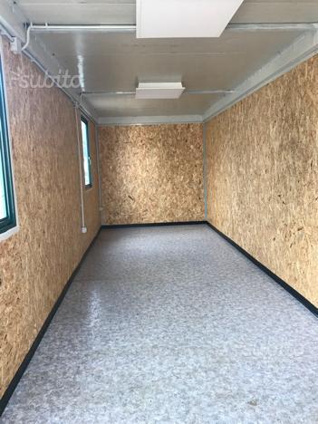Box,container come nuovo , uso ufficio o deposito