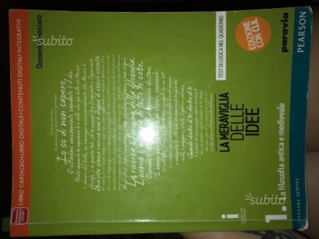La meraviglia delle idee volume 1 (filosofia)