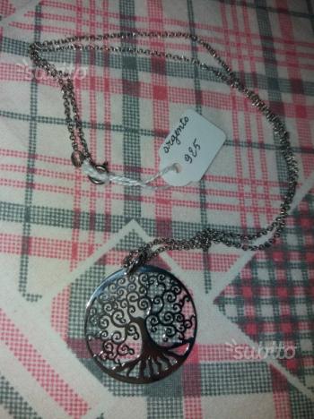 Collana ciondolo argento 925