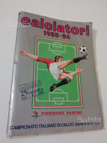 Album calciatori panini 1985-86 completo