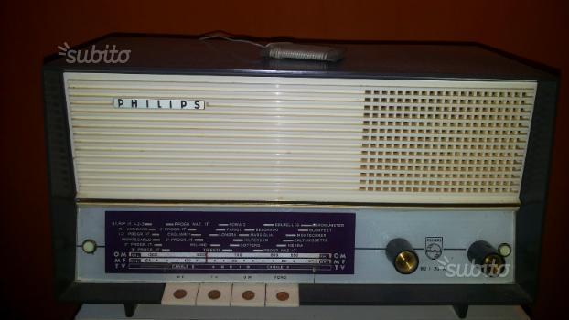 Coppia radio Philips philetta valvolari