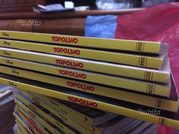 Collezione fumetti Topolino