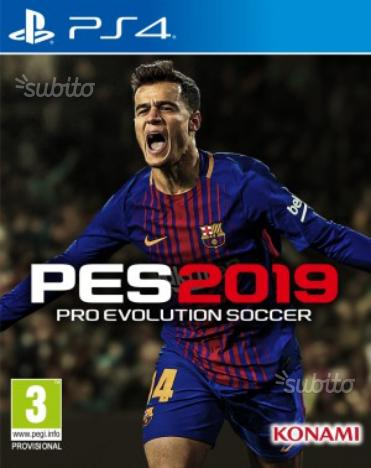 Pes 2019 ps4 Xbox one nuovo sigillato