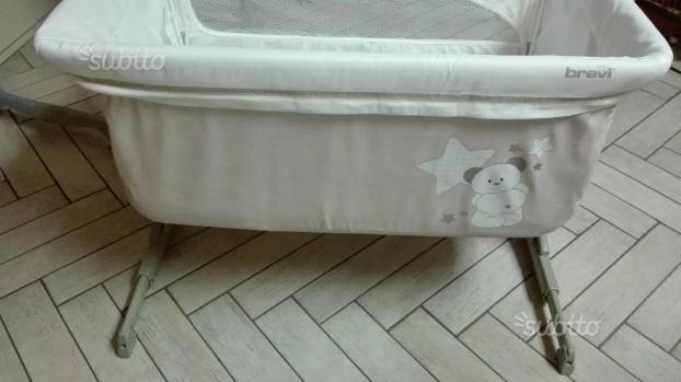 Culla Brevi Nanna oh fianco letto