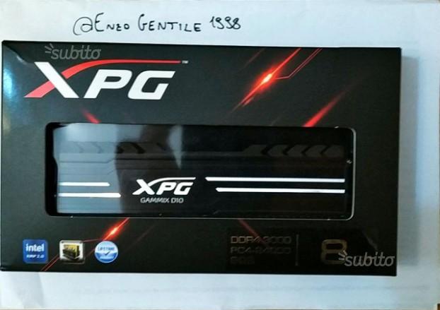 Adata XPG D10 DDR4 3000MHZ 8GBB Nero
