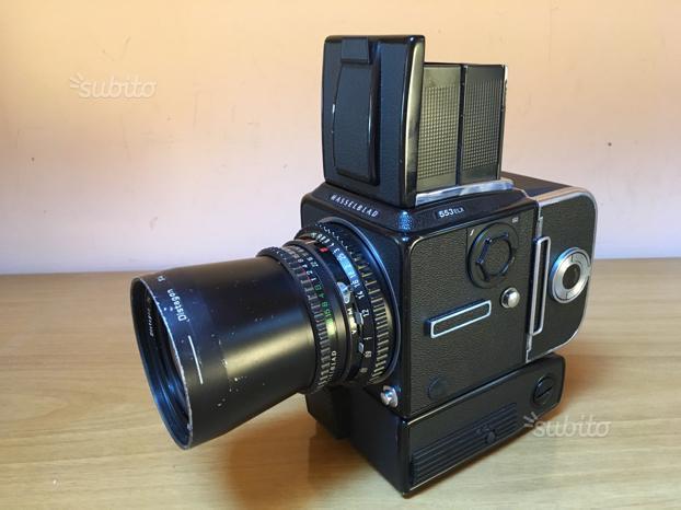 Fotocamera hasselblad 553 elx+magazzino a12+50 f4