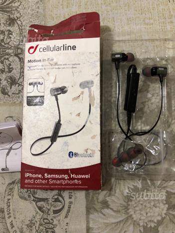 Cuffie bluetooth wireless per telefono cellularlin