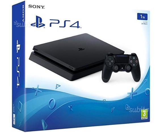 PS4 silm 1 Tb Nuova Sigillata con scontrino