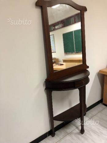 Specchio parete arte povera