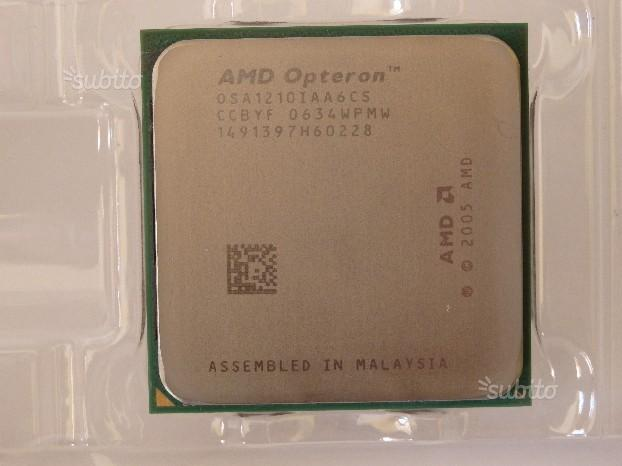 Cpu processore Amd Opteron 1210 /1800 MHZ