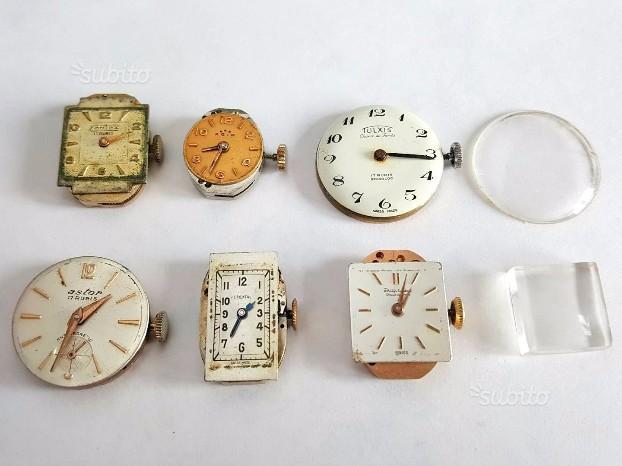 6 Movimenti per orologi Swiss per ricambi
