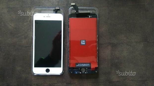Display iphone 6plus bianco o nero con montaggio