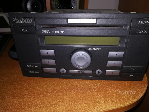 Autoradio originale Ford 6000