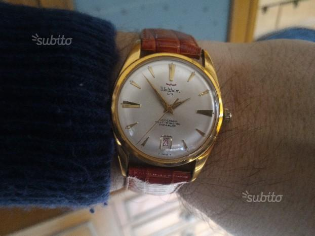 Waltham 65 Jewels Data Vintage