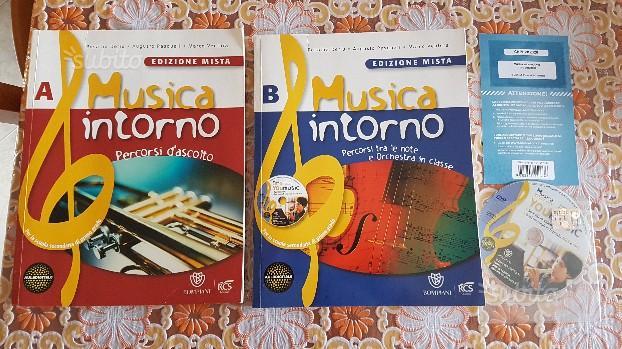 Libro Musica Intorno A/B con Cd