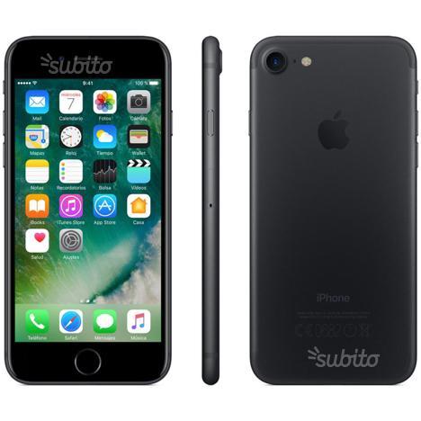 IPhone 7 nero opaco