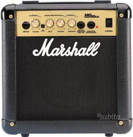 Amplicatore Marshall MG10CD