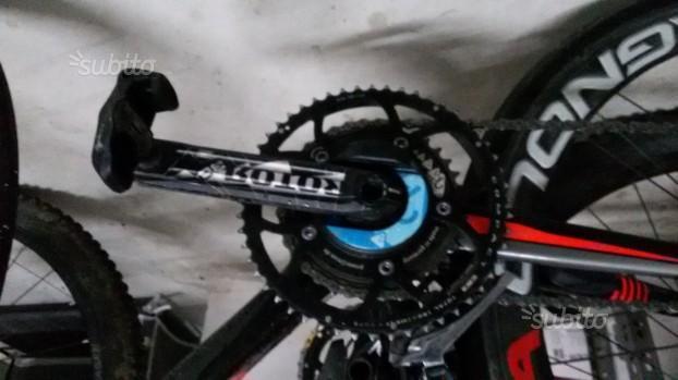 Misuratore potenza bici da corsa