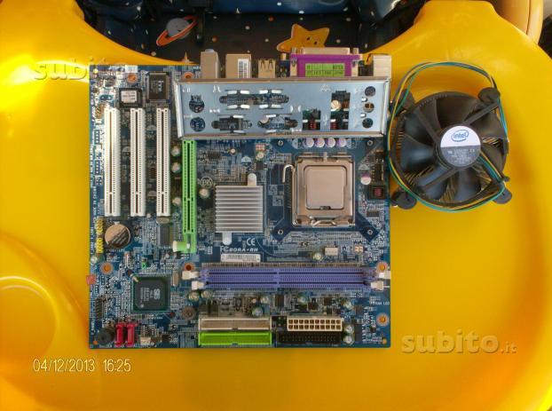 Scheda Madre Gigabyte BORA-RH skt 775 CPU D-Core