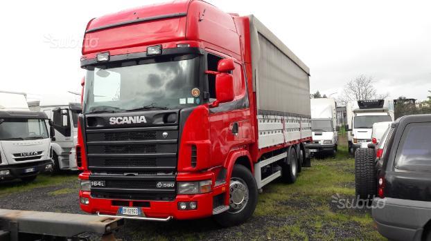 Scania 164 l 580 cass, centinato metri 7.35 (02)