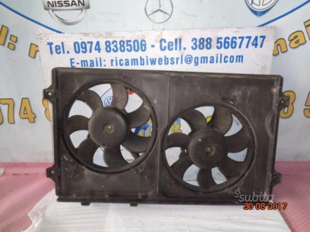 Ford galaxy 1.9 diesel ventole radiatore(ag)