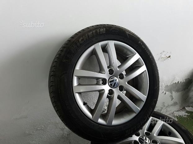 """Cerchi 16"""" Volkwagen GOLF + Gomme Michelin"""