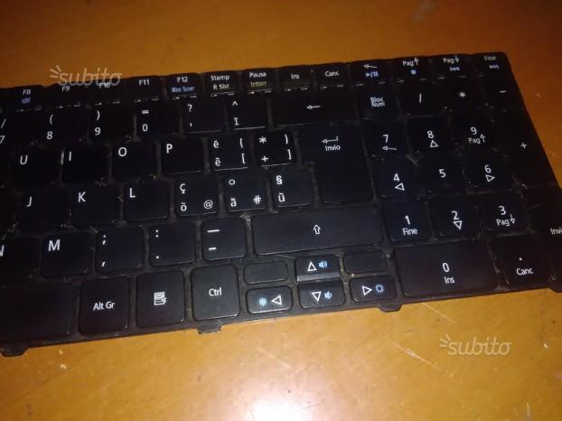 Tastiera acer aspire 5552g