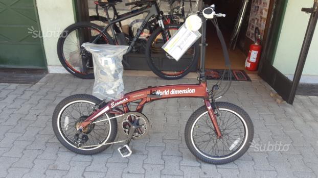 Bici Pieghevole a pedalata assistita nuova