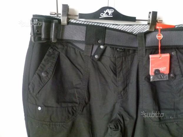 Pantalone Esprit nero 46 gamba dritta cartellino