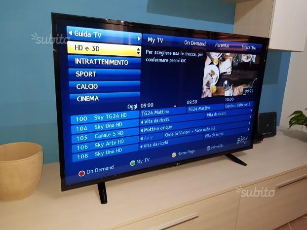 Tv lg49lh510v 50''